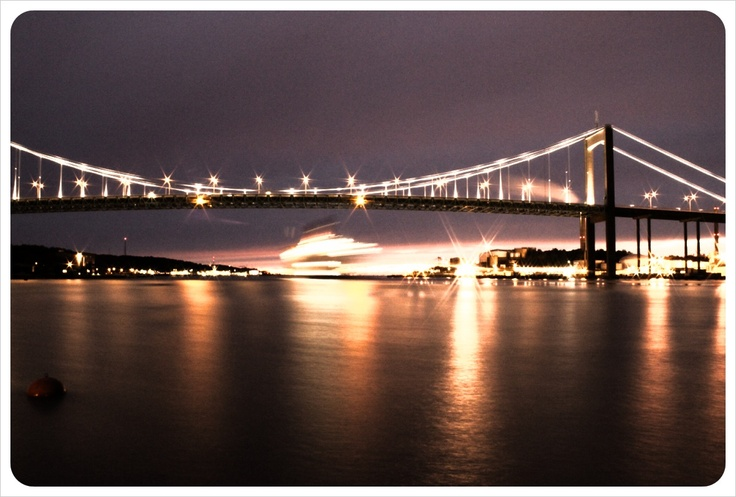 This series of Gothenburg pics were all shot by me. This one also at Älsvborgsbridge, Gothenburg.