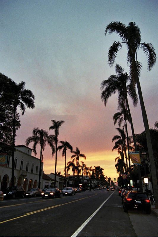 Sunset Santa Barbara California Copyright Ildiko Gyory In 2018 Pinterest And