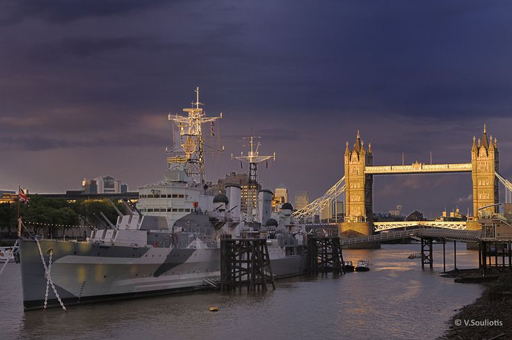 HMS Belfast by Bill Souliotis on 500px
