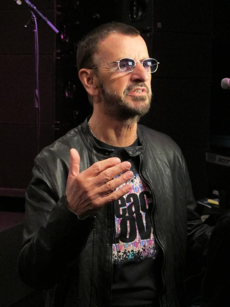 FILE - Ringo Starr answers questions about upcoming 2013 Pacific Rim Tour in Hollywood, California on February 1, 2013.