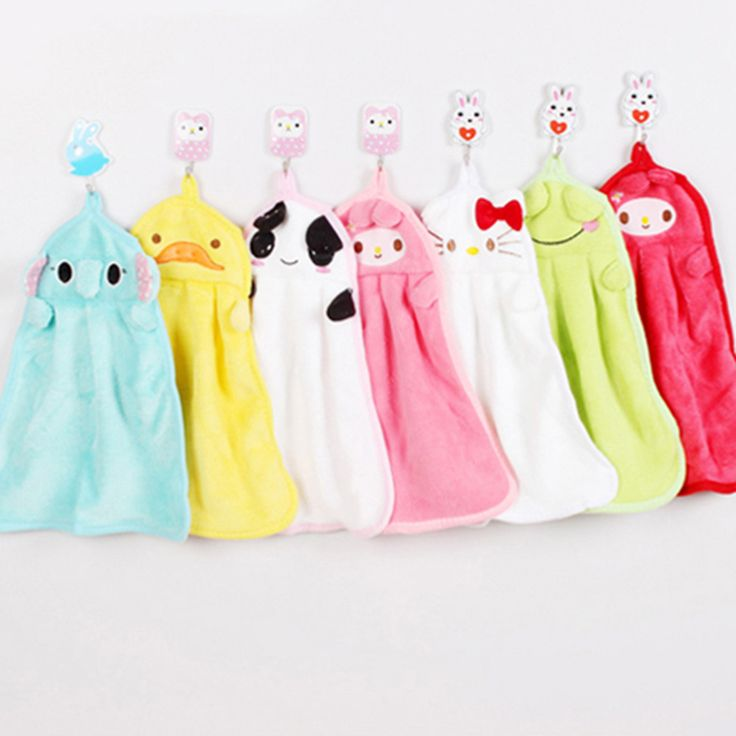 Microfiber towel Newborn Towels Cute Animal Children Cartoon Absorbent Kids Hand Dry Towel  For Kitchen Bathroom Use T0025 #clothing,#shoes,#jewelry,#women,#men,#hats,#watches,#belts,#fashion,#style