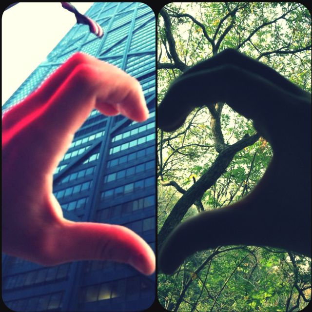 Long distance love photography, even when the two halfs are apart they still come together and make one heart!