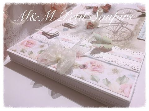 En este tutorial se explica paso a paso como crear un bonito Libro de Firmas de una forma fácil y rápida con una encuadernación con lazo como recordatorio de...