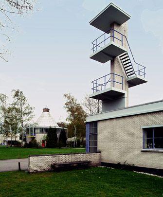 J.J.P. Oud, Bio-Herstellingsoord/Sanatorium, Arnhem 1952-1960
