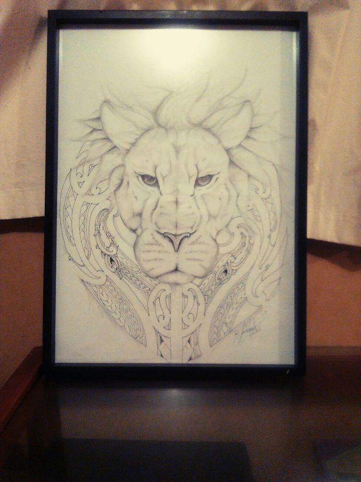 Maori Lion design