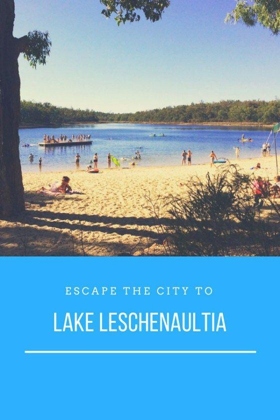 Escape the city to Lake Leschenaultia