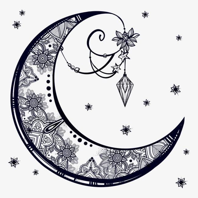 Pin On Moon Drawing