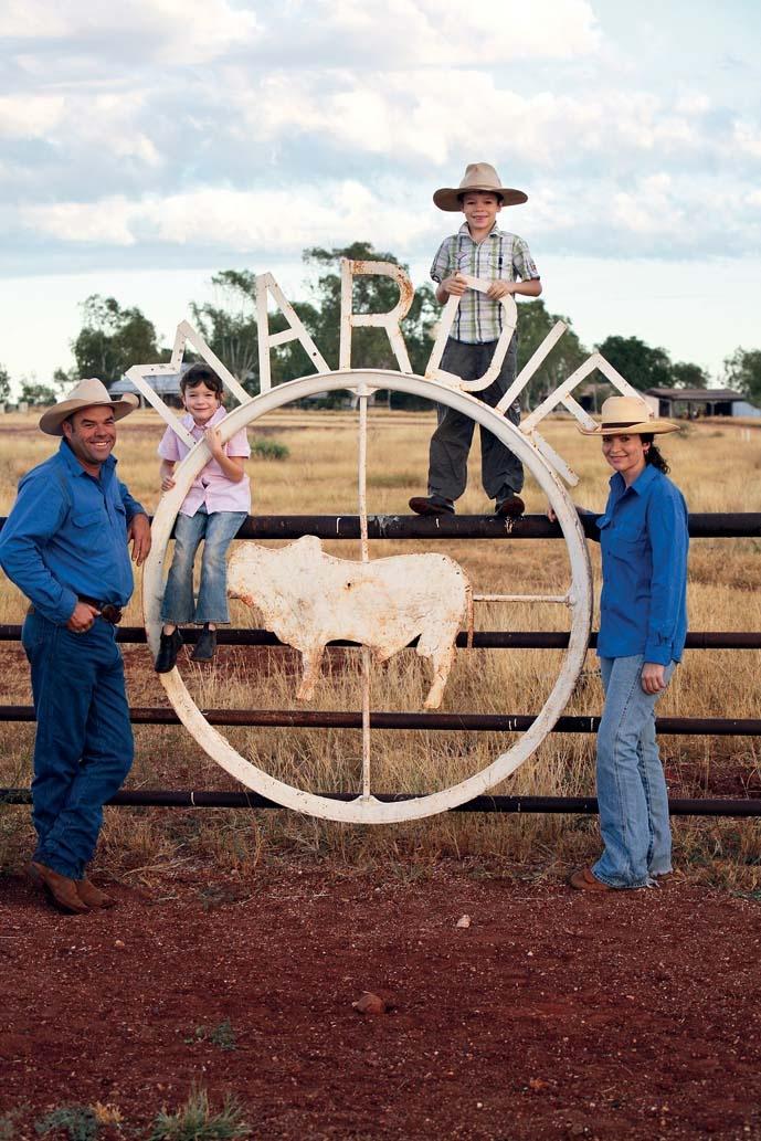 With the help of some of the best grazing country in the Pilbara, Richard and Lindy climas of Mardie Station are pioneering a new way to breed cattle using low-stress management techniques.