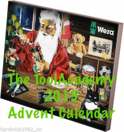 WERA-TOOLS-2015-TOOL-ADVENT-CALENDAR-SUPERB-TOOLS-SOLD-OUT-QUICK-LAST-YEAR