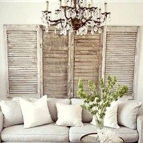 Shabby chic farmhouse living room decor ideas 03
