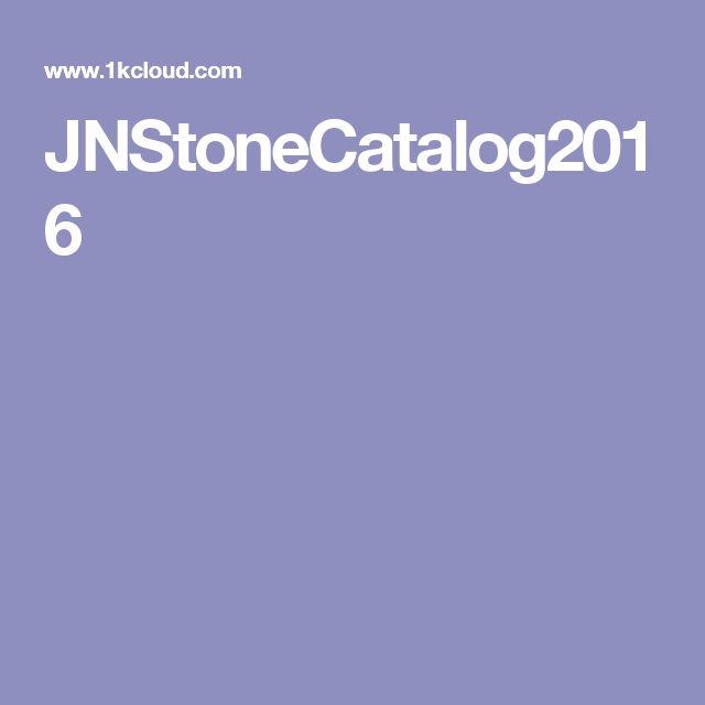 JNStoneCatalog2016