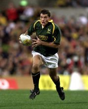 Joost van der Westhuizen captained the Springboks in 1999 and 2003. Joost has a good captaincy record with 8 win from 10 Tests. (Gallo Images)