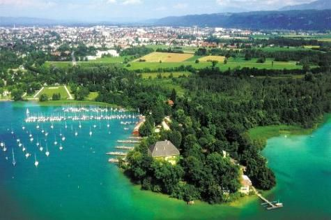 The Woerthersee, Austria