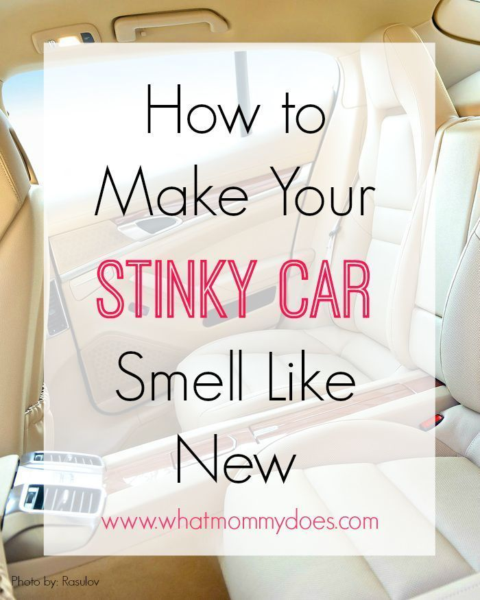 How to Make Your Stinky Car Smell Like New - This is my favorite car cleaning hack...air fresheners hidden in plain sight! #PERKFresh #ad