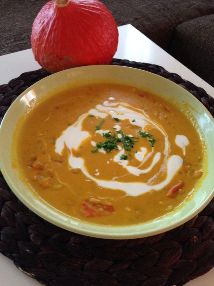 Dýňová podzimní polévka
