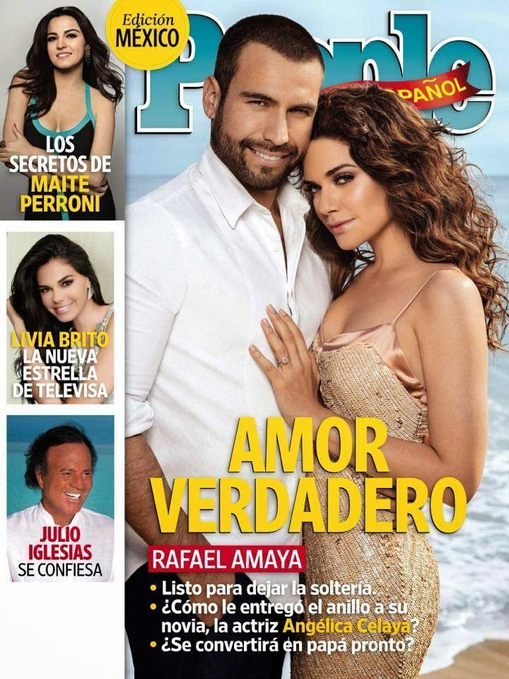 Actrices y actores latinos: People en Español - Rafael Amaya y Angelica Celaya...
