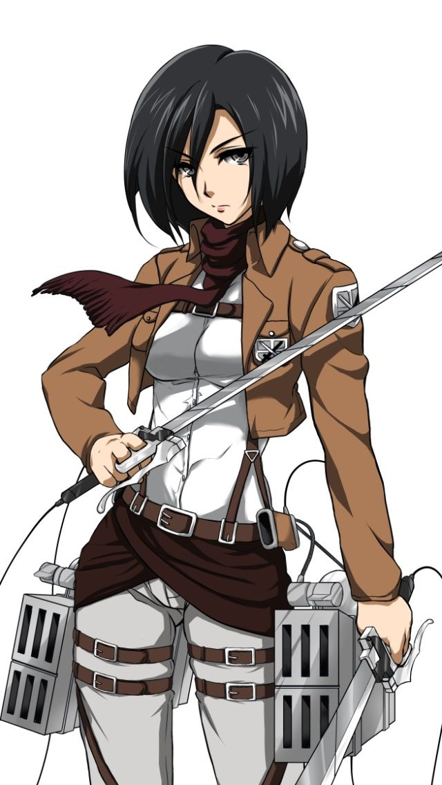 Shingeki no kyojin mikasa ackerman