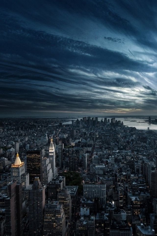 A picturesque and sweeping view of new york city skyline