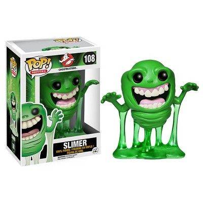 Funko Ghostbusters Pop! Movies Vinyl Collectors Set: Slimer & 6 Stay Puft Man