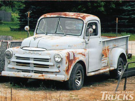 1950 Dodge Truck a Diamond in the rough; from Custom Classic Trucks Magazine