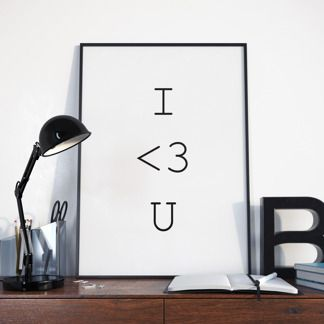 Poster I love you