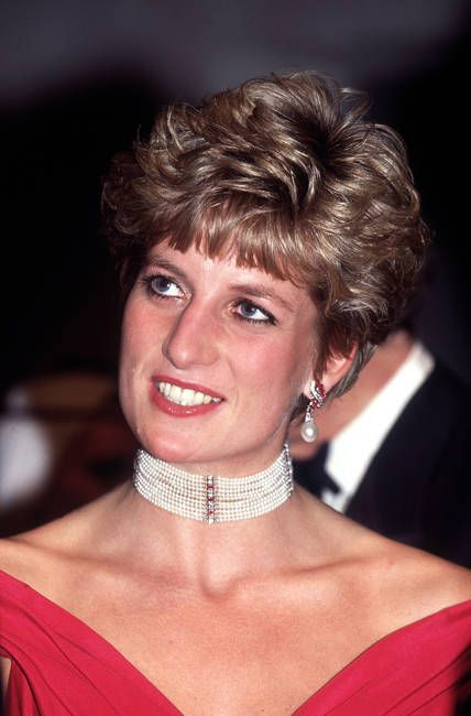Princess Diana in 1991  A Look Back at Princess Diana's Jewelry