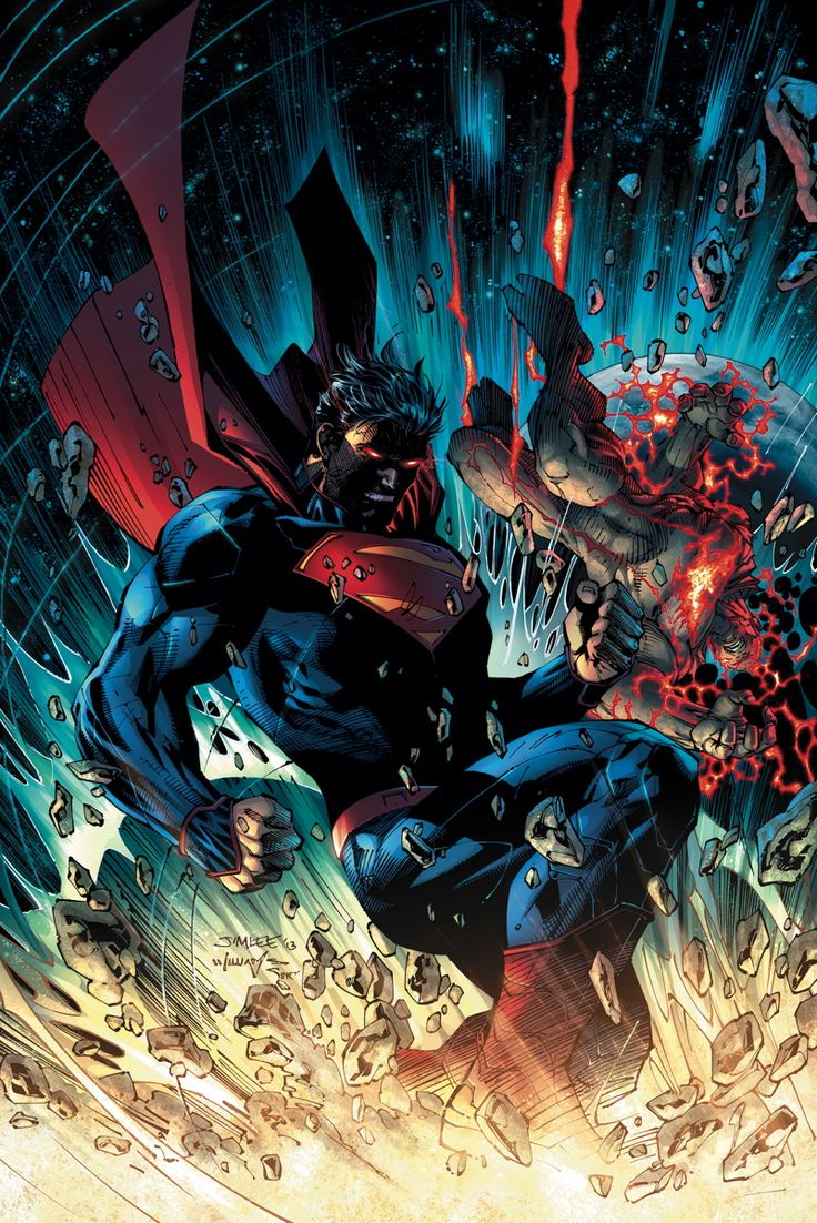 SUPERMAN UNCHAINED #6 Written by SCOTT SNYDER Art and cover by JIM LEE and SCOTT WILLIAMS Backup story art by DUSTIN NGUYEN
