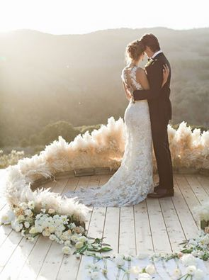 pampas grass bouquet - Google Search