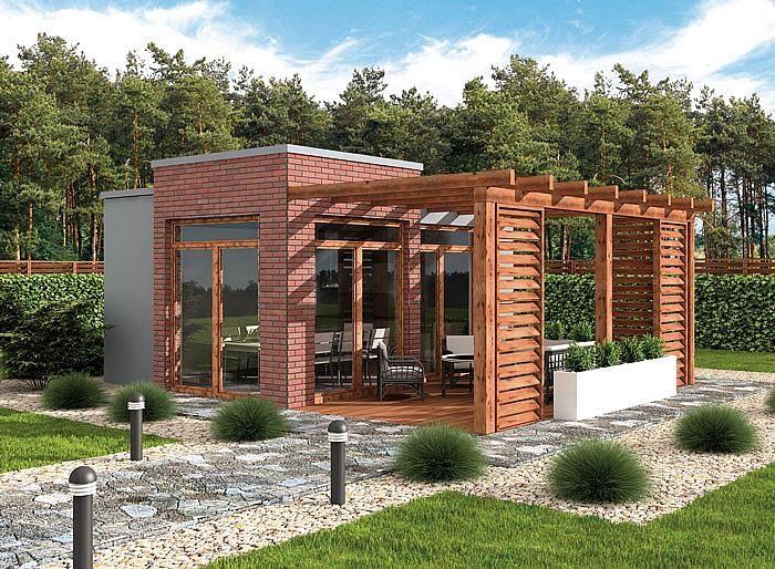 projekt KL4 Kuchnia letnia / Bud. gospodarczy SLN2148