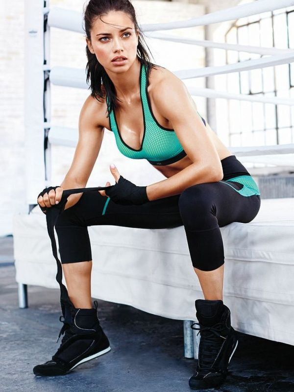 Image result for Fitness Fans Will Freak Over Adriana Lima's On-Set Mannequin Challenge