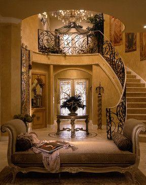 Perla's Own Home - mediterranean - Entry - Miami - Perla Lichi Design