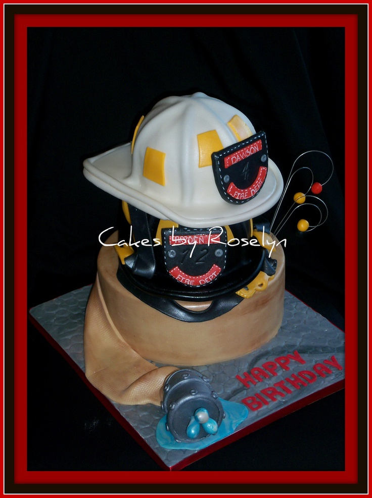 Firefighter Living Room Decor: 1000+ Images About Grooms Cakes / Birthday Cakes For Men