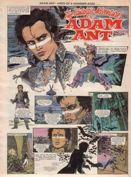 The Fantastic Adventures of Adam Ant.