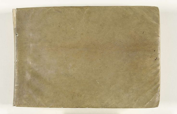 Gesina ter Borch | Familie-plakboek van Gesina ter Borch, Gesina ter Borch, 1660 - c. 1687 | Album met aquarellen van Gesina ter Borch, opgeplakte tekeningen van familieleden en andere werken op papier; 184 bladen. Door een vriend van Gesina, Henrik Jordis, werd het album Konstboek genoemd.