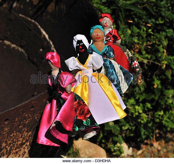 Souvenir dolls, Cuba - Stock Image