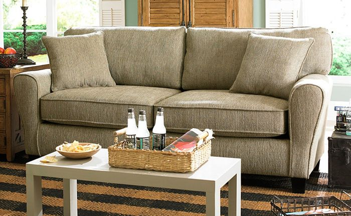 angel chenille sofa in pewter fabric living room furniture