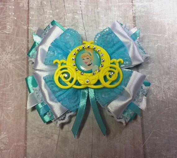 Big bow Bows for hair Princess Cinderella A wonderful gift