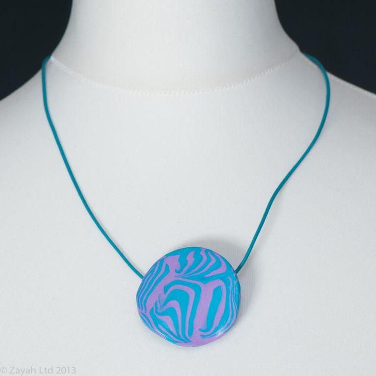 Goa - Blue Pendant from Zayah