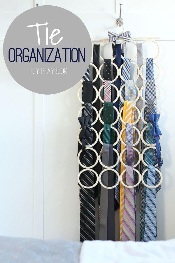 Best 25+ Organize ties ideas on Pinterest   Tie storage ...