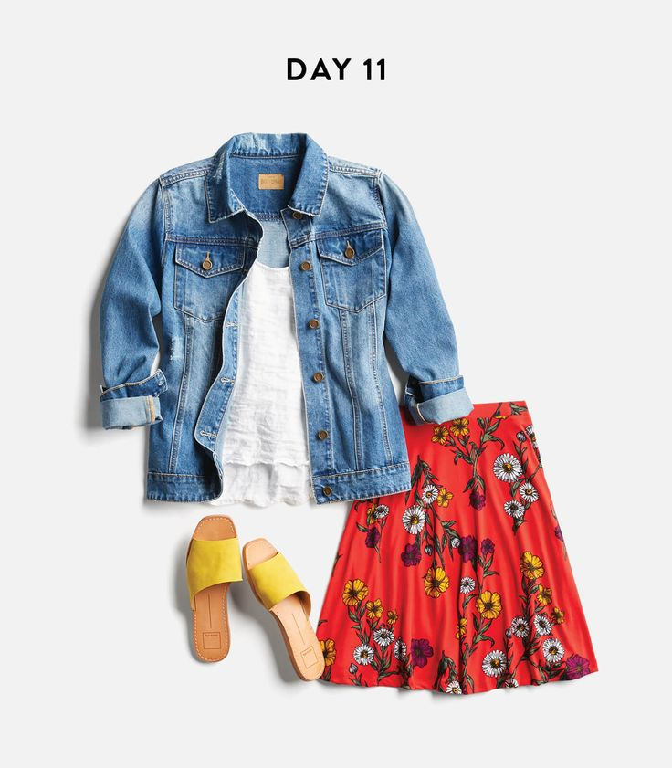 Month of Outfits. Love the color combinations love the fit of the skirt. Love the fact that this outfit is a little more for her than I would usually wear but I would love to pull it off.