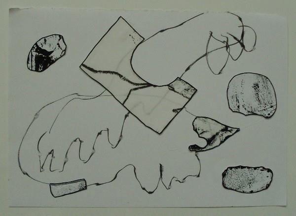 kresba, koláž