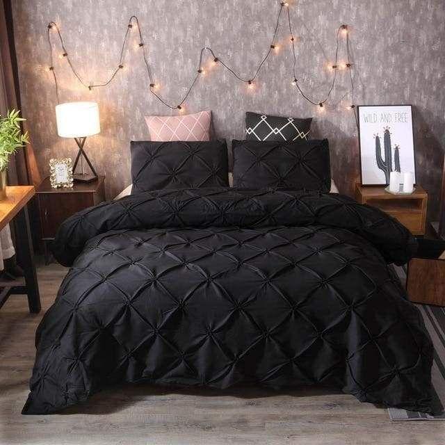 Pinch Pleat Duvet Cover Modern Market Online Bed Linen Sets