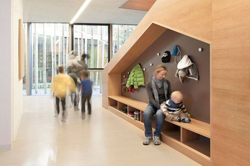 Preschool, Kindergarten and Family Center, Modus Architecture