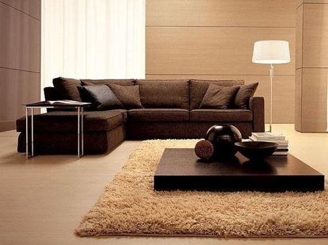 como pintar sala con muebles chocolate - Buscar con Google