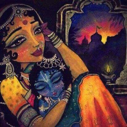 Yasoda and Krishna