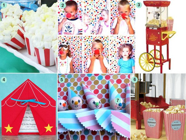 76 Best Circus/Magic Party Images On Pinterest | Circus Theme