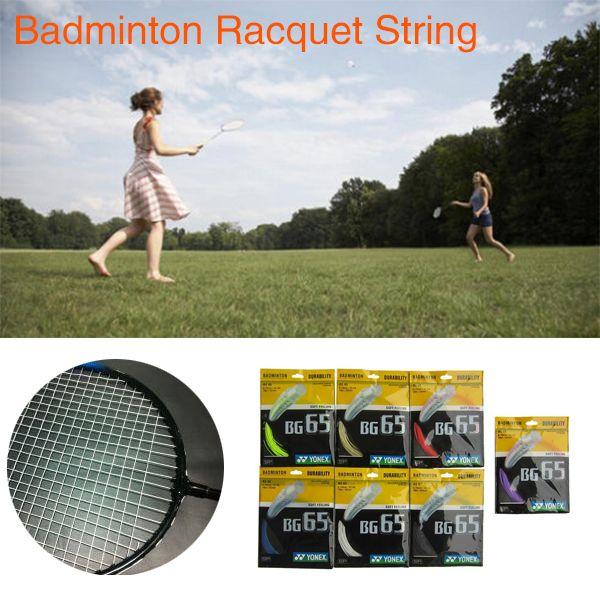 10 M BG-65/NBG-95 BG65/NBG95 Olahraga Bulutangkis Raket String Reel Penggantian