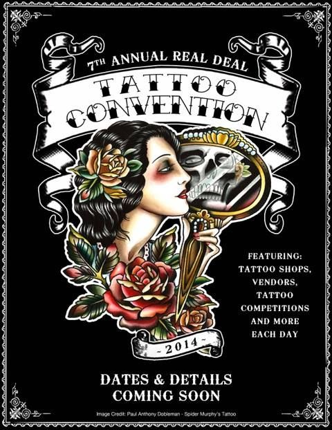 Real Deal Tattoo Convention 14 - 16 March 2014 See more on: http://worldtattooevents.com/real-deal-tattoo-convention/ — in Kansas City, MO, United States.