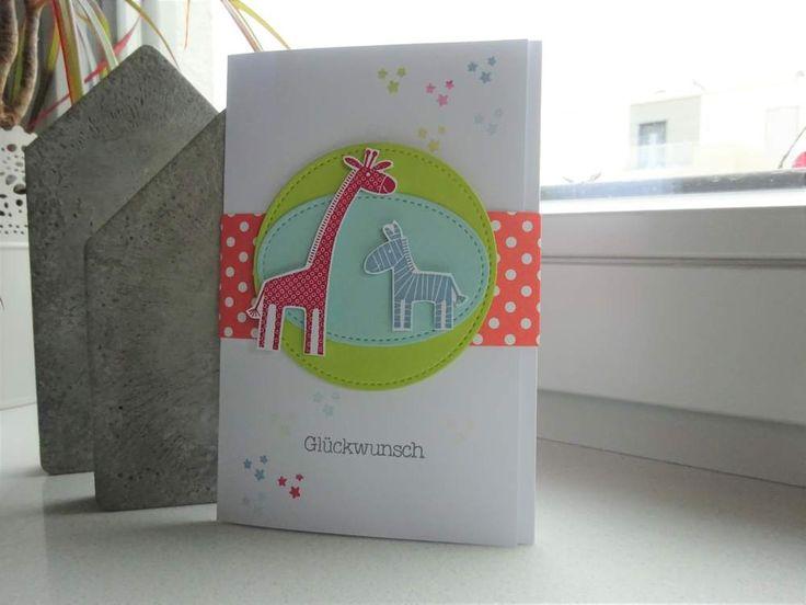 Geldgeschenke - Karte / Gutscheinkarte zur Geburt / Zwillinge - ein Designerstück von szamie bei DaWanda