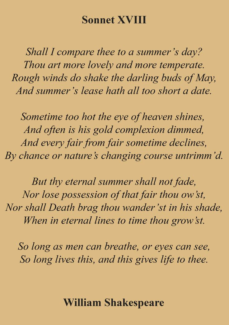 sonnet shakespeares view on life and Welcome all the sonnets are provided here, with descriptive commentary attached to each one, giving explanations of difficult and unfamiliar words and phrases, and with a full analysis of any special problems of interpretation which arise.
